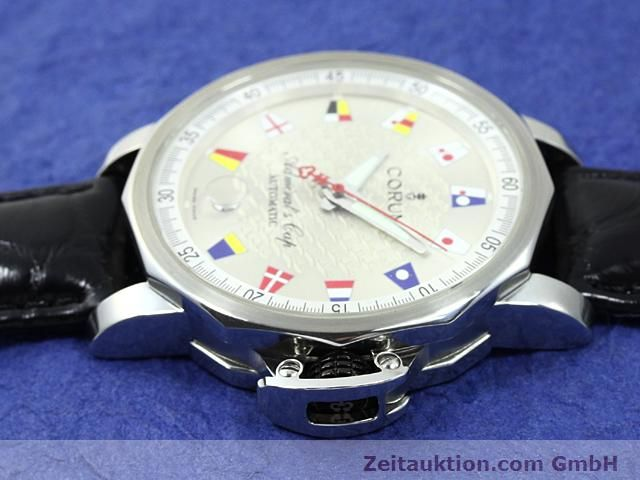 Used luxury watch Corum Admirals Cup steel automatic Kal. ETA 2892A2 Ref. 082.830.20  | 140714 05