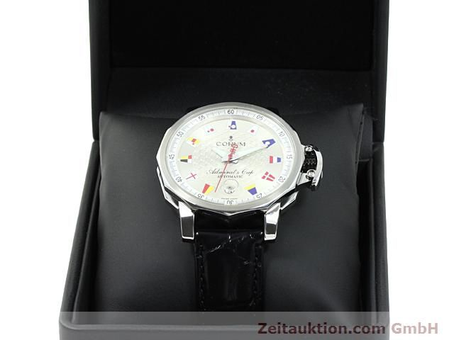 Used luxury watch Corum Admirals Cup steel automatic Kal. ETA 2892A2 Ref. 082.830.20  | 140714 07