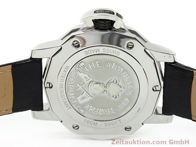 Used luxury watch Corum Admirals Cup steel automatic Kal. ETA 2892A2 Ref. 082.830.20  | 140714 09