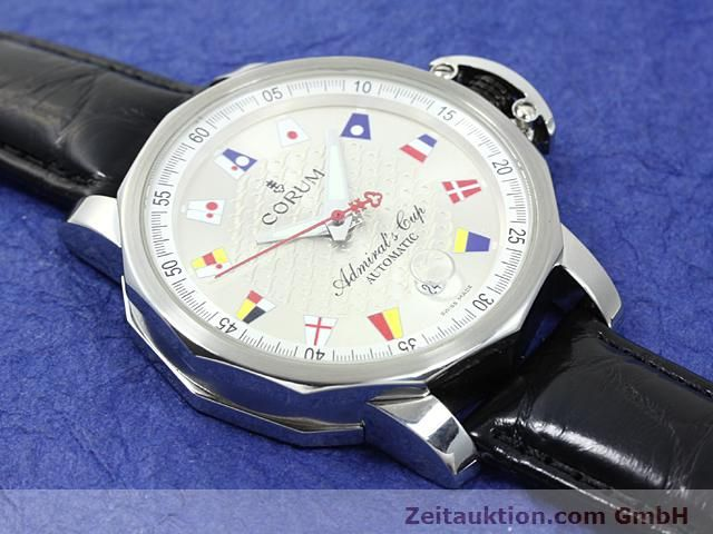 Used luxury watch Corum Admirals Cup steel automatic Kal. ETA 2892A2 Ref. 082.830.20  | 140714 12