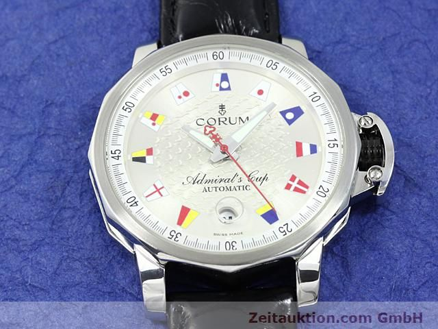 Used luxury watch Corum Admirals Cup steel automatic Kal. ETA 2892A2 Ref. 082.830.20  | 140714 13