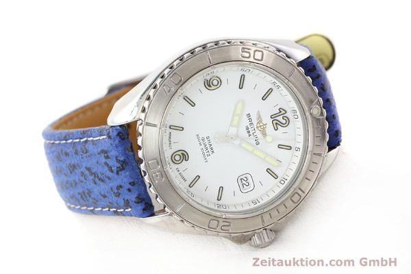 Used luxury watch Breitling Shark steel quartz Kal. ETA 955112 Ref. A58605  | 140715 03