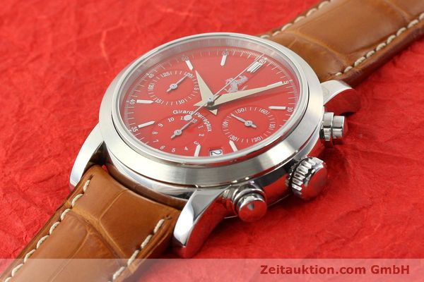 Used luxury watch Girard Perregaux Ferrari steel automatic Ref. 8020  | 140716 01