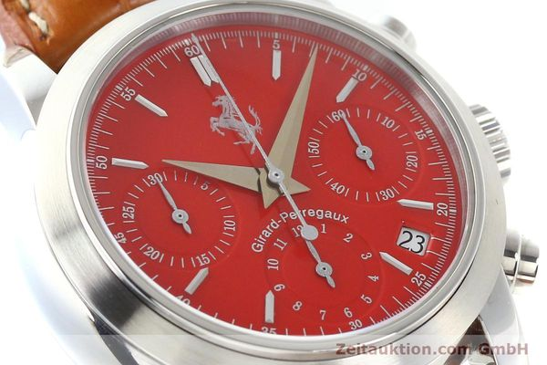 Used luxury watch Girard Perregaux Ferrari steel automatic Ref. 8020  | 140716 02