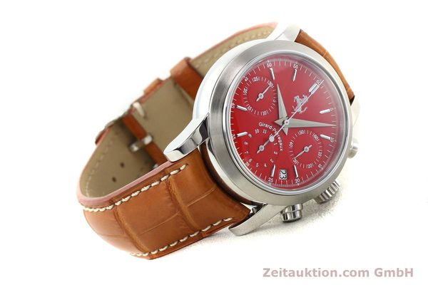 Used luxury watch Girard Perregaux Ferrari steel automatic Ref. 8020  | 140716 03