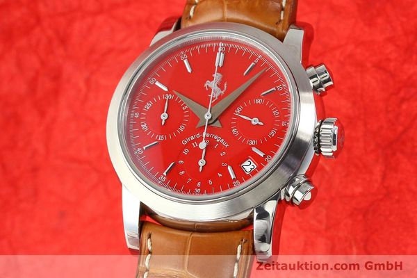 Used luxury watch Girard Perregaux Ferrari steel automatic Ref. 8020  | 140716 04