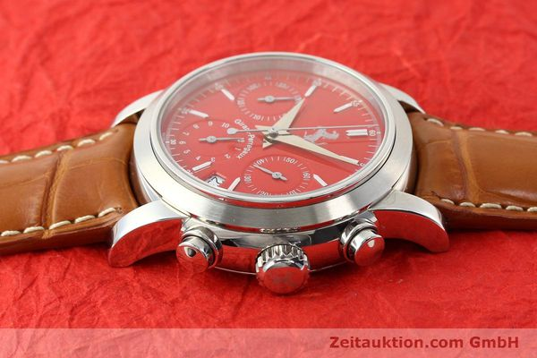 Used luxury watch Girard Perregaux Ferrari steel automatic Ref. 8020  | 140716 05