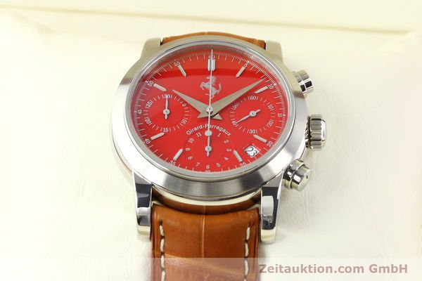 Used luxury watch Girard Perregaux Ferrari steel automatic Ref. 8020  | 140716 07