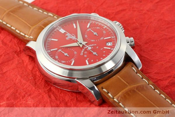 Used luxury watch Girard Perregaux Ferrari steel automatic Ref. 8020  | 140716 15