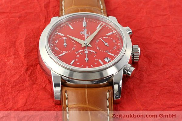 Used luxury watch Girard Perregaux Ferrari steel automatic Ref. 8020  | 140716 16