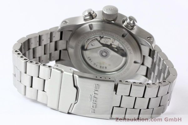 Used luxury watch Fortis B42 steel automatic Kal. ETA 7750 Ref. 635.10.141  | 140721 12