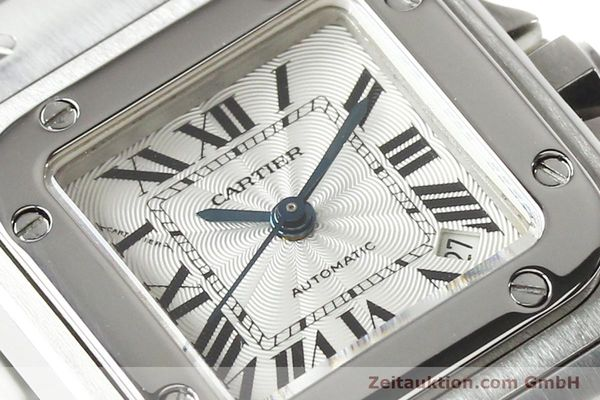 Used luxury watch Cartier Santos steel automatic  | 140724 02