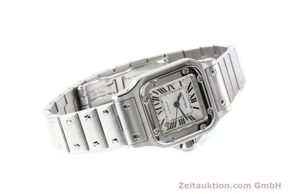 Used luxury watch Cartier Santos steel automatic  | 140724 03