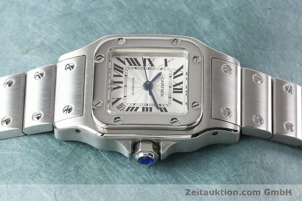 Used luxury watch Cartier Santos steel automatic  | 140724 05