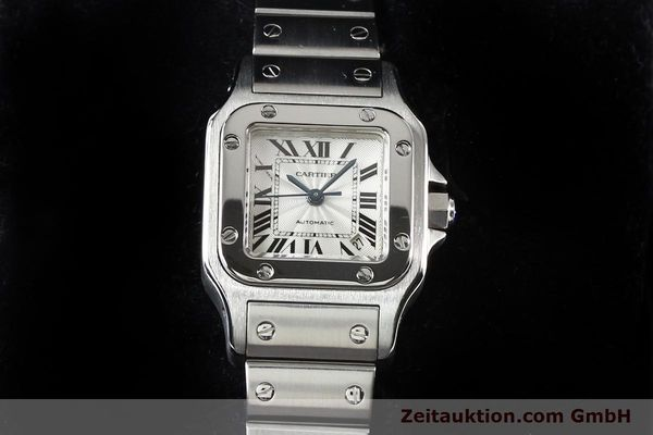 Used luxury watch Cartier Santos steel automatic  | 140724 07