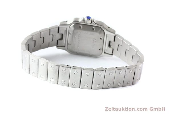 Used luxury watch Cartier Santos steel automatic  | 140724 09