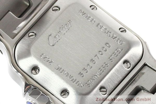 Used luxury watch Cartier Santos steel automatic  | 140724 10