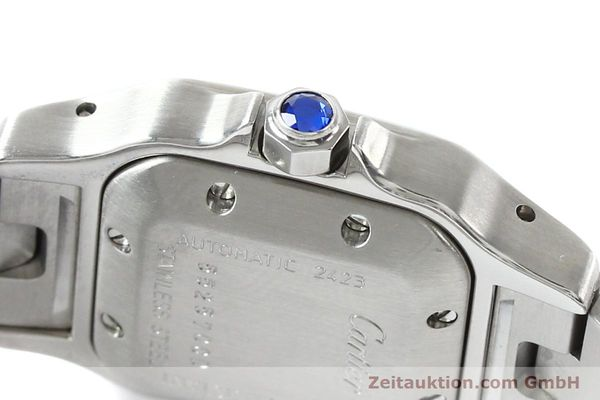 Used luxury watch Cartier Santos steel automatic  | 140724 11