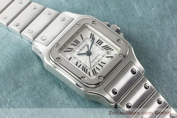 Used luxury watch Cartier Santos steel automatic  | 140724 13
