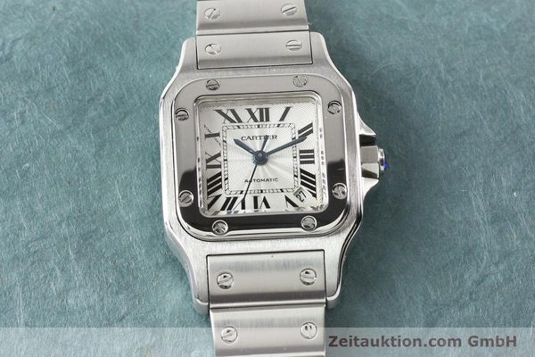 Used luxury watch Cartier Santos steel automatic  | 140724 14