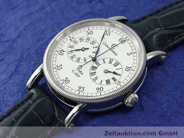 Used luxury watch Chronoswiss Tora steel automatic Kal. C.123 Ref. CH1323  | 140727 01