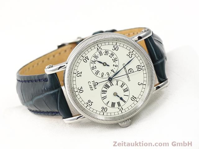 Used luxury watch Chronoswiss Tora steel automatic Kal. C.123 Ref. CH1323  | 140727 03