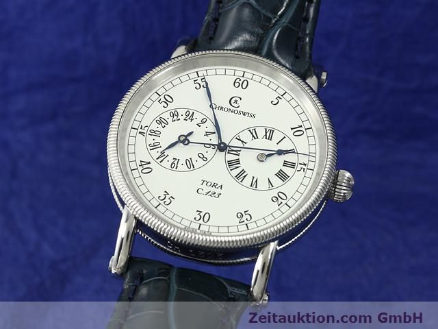 Used luxury watch Chronoswiss Tora steel automatic Kal. C.123 Ref. CH1323  | 140727 04