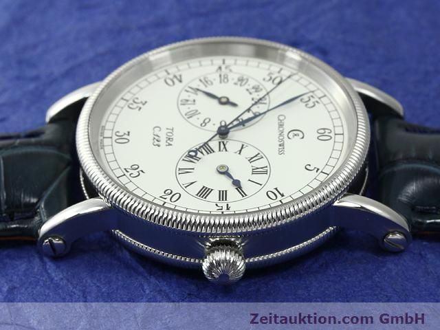 Used luxury watch Chronoswiss Tora steel automatic Kal. C.123 Ref. CH1323  | 140727 05