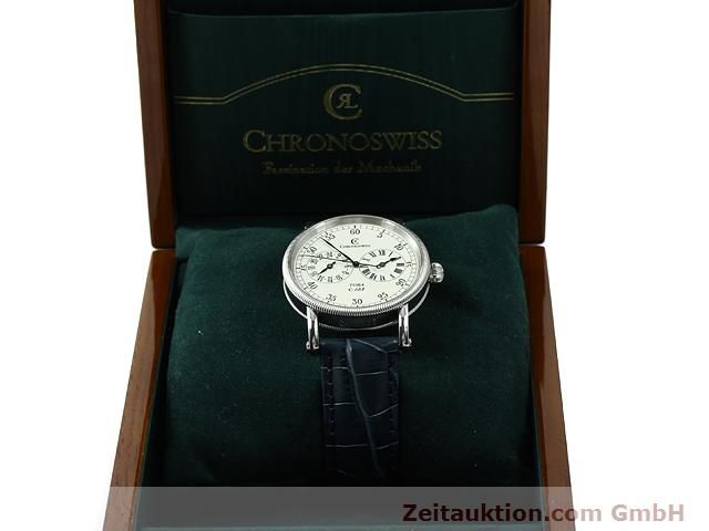 Used luxury watch Chronoswiss Tora steel automatic Kal. C.123 Ref. CH1323  | 140727 07