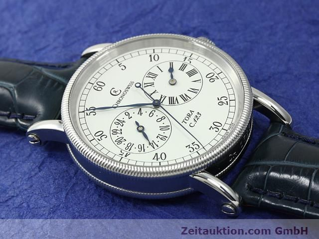 Used luxury watch Chronoswiss Tora steel automatic Kal. C.123 Ref. CH1323  | 140727 14
