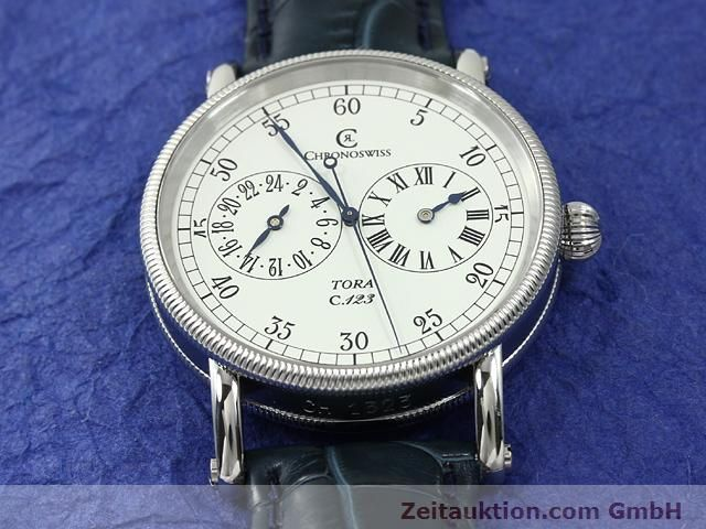 Used luxury watch Chronoswiss Tora steel automatic Kal. C.123 Ref. CH1323  | 140727 15