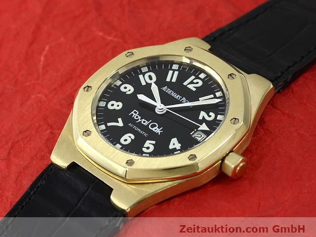Used luxury watch Audemars Piguet Royal Oak 18 ct gold automatic Kal. 2225 Ref. D95849  | 140728 01