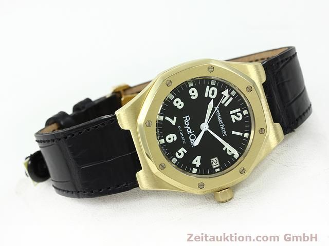 Used luxury watch Audemars Piguet Royal Oak 18 ct gold automatic Kal. 2225 Ref. D95849  | 140728 03