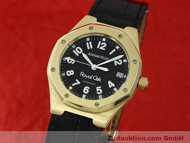 Used luxury watch Audemars Piguet Royal Oak 18 ct gold automatic Kal. 2225 Ref. D95849  | 140728 04