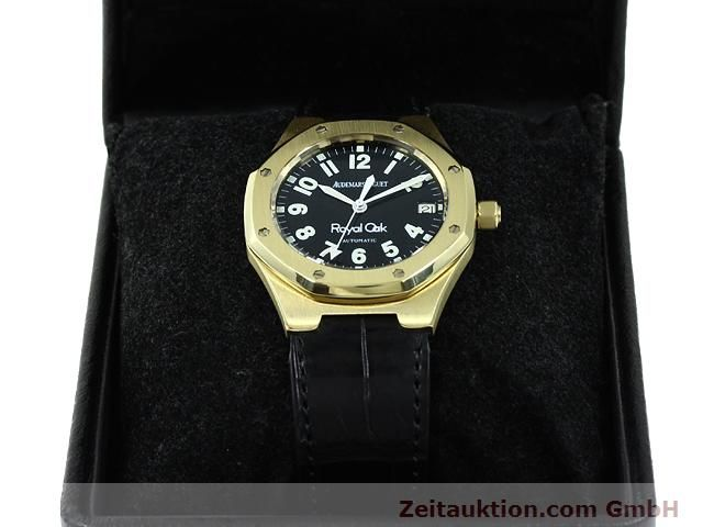 Used luxury watch Audemars Piguet Royal Oak 18 ct gold automatic Kal. 2225 Ref. D95849  | 140728 07