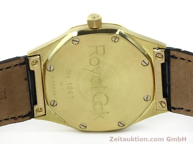 Used luxury watch Audemars Piguet Royal Oak 18 ct gold automatic Kal. 2225 Ref. D95849  | 140728 08