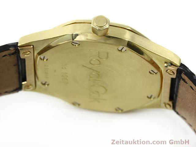 Used luxury watch Audemars Piguet Royal Oak 18 ct gold automatic Kal. 2225 Ref. D95849  | 140728 12