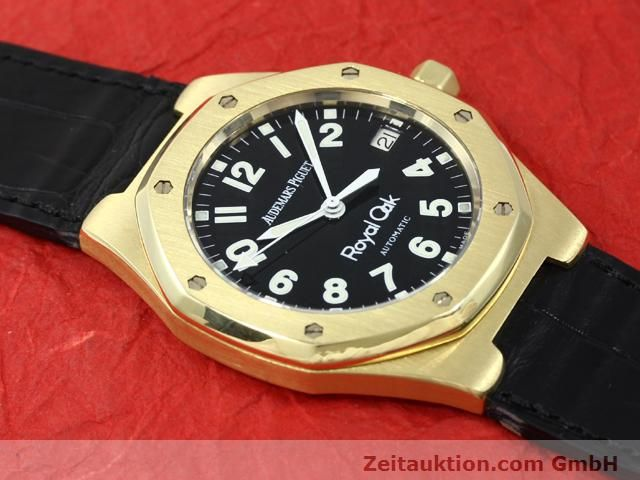 Used luxury watch Audemars Piguet Royal Oak 18 ct gold automatic Kal. 2225 Ref. D95849  | 140728 15