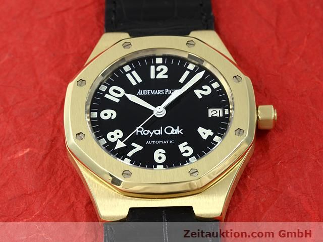 Used luxury watch Audemars Piguet Royal Oak 18 ct gold automatic Kal. 2225 Ref. D95849  | 140728 16
