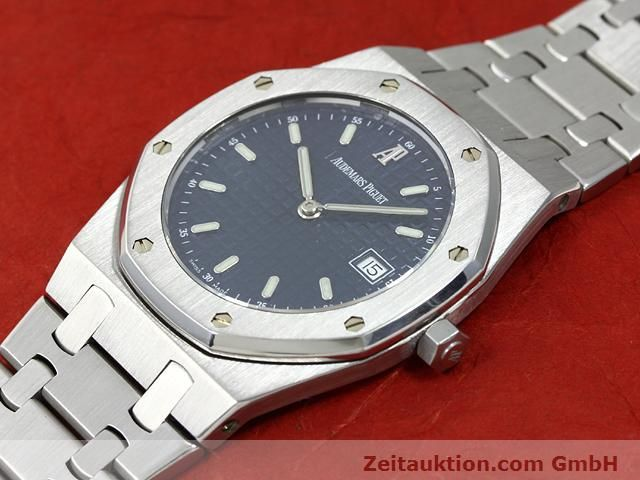 Used luxury watch Audemars Piguet Royal Oak steel quartz Kal. 2612 Ref. E37792  | 140729 01