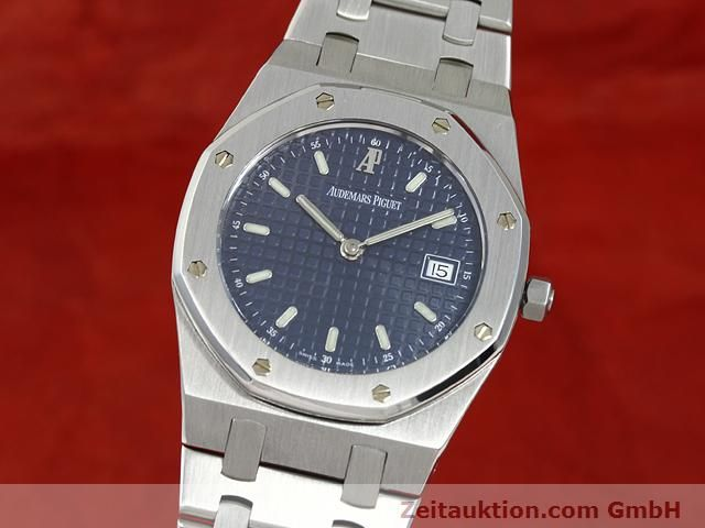 Used luxury watch Audemars Piguet Royal Oak steel quartz Kal. 2612 Ref. E37792  | 140729 04