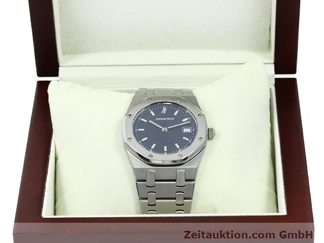 Used luxury watch Audemars Piguet Royal Oak steel quartz Kal. 2612 Ref. E37792  | 140729 07