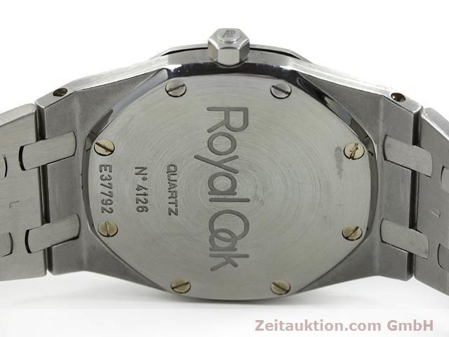 Used luxury watch Audemars Piguet Royal Oak steel quartz Kal. 2612 Ref. E37792  | 140729 09