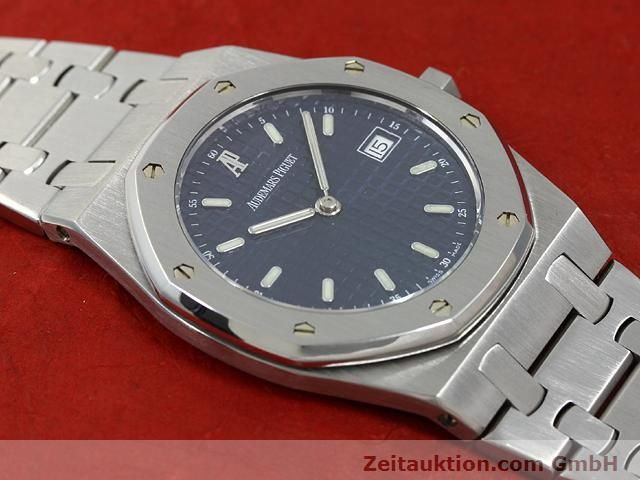 Used luxury watch Audemars Piguet Royal Oak steel quartz Kal. 2612 Ref. E37792  | 140729 11