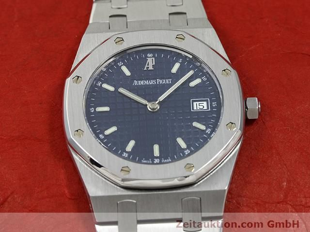 Used luxury watch Audemars Piguet Royal Oak steel quartz Kal. 2612 Ref. E37792  | 140729 12