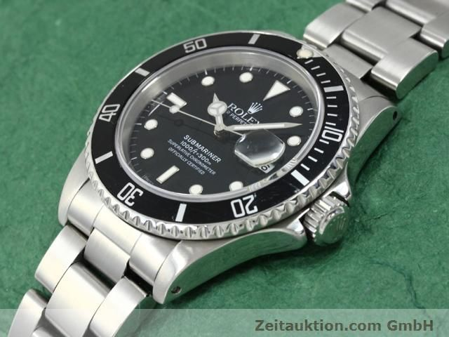 Used luxury watch Rolex Submariner steel automatic Kal. 3135 Ref. 16610  | 140730 01