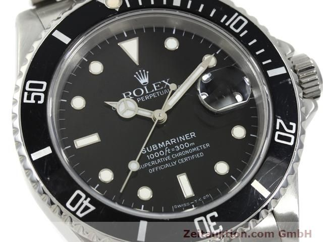 Used luxury watch Rolex Submariner steel automatic Kal. 3135 Ref. 16610  | 140730 02