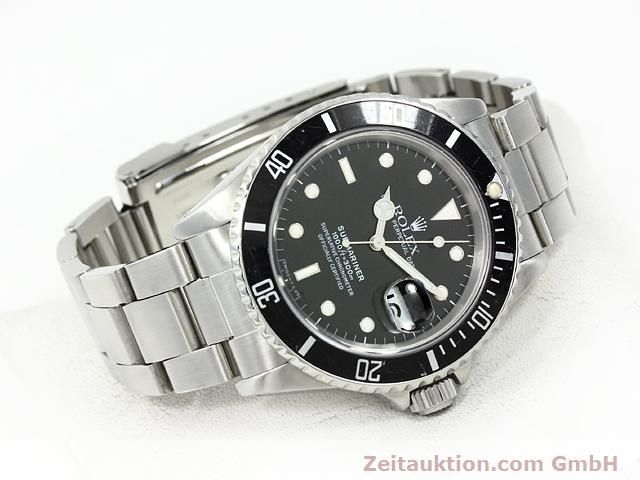 Used luxury watch Rolex Submariner steel automatic Kal. 3135 Ref. 16610  | 140730 03