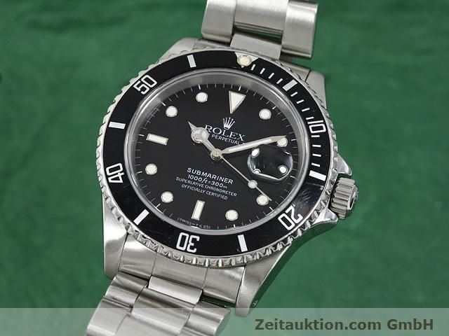 Used luxury watch Rolex Submariner steel automatic Kal. 3135 Ref. 16610  | 140730 04