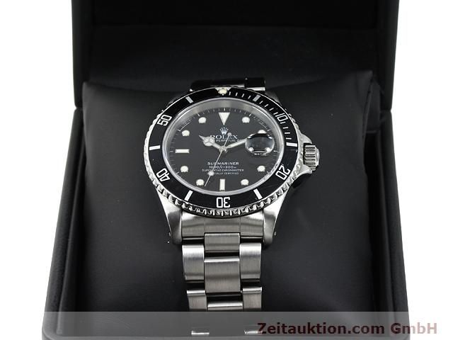 Used luxury watch Rolex Submariner steel automatic Kal. 3135 Ref. 16610  | 140730 07
